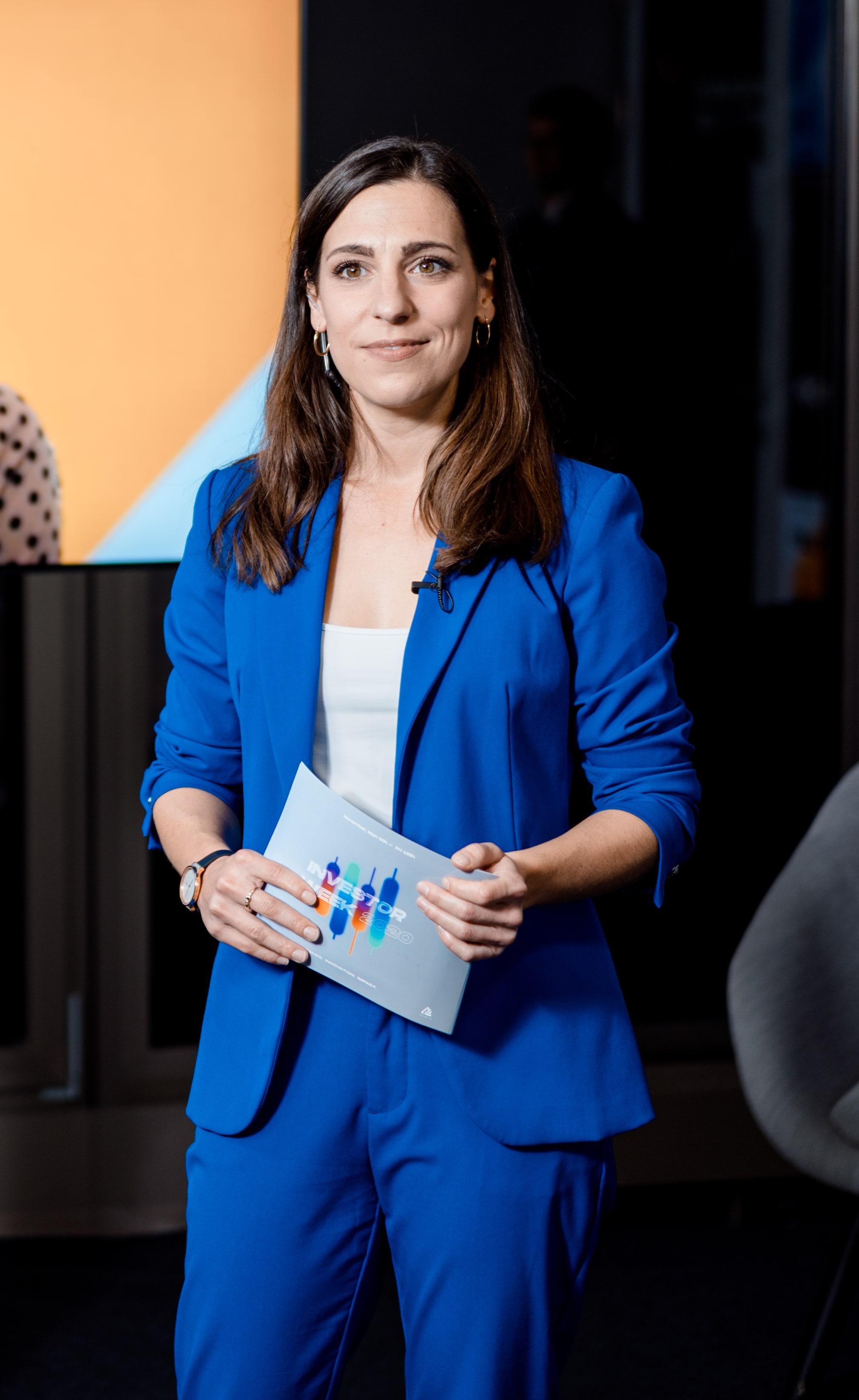 Moderatorin Hamburg